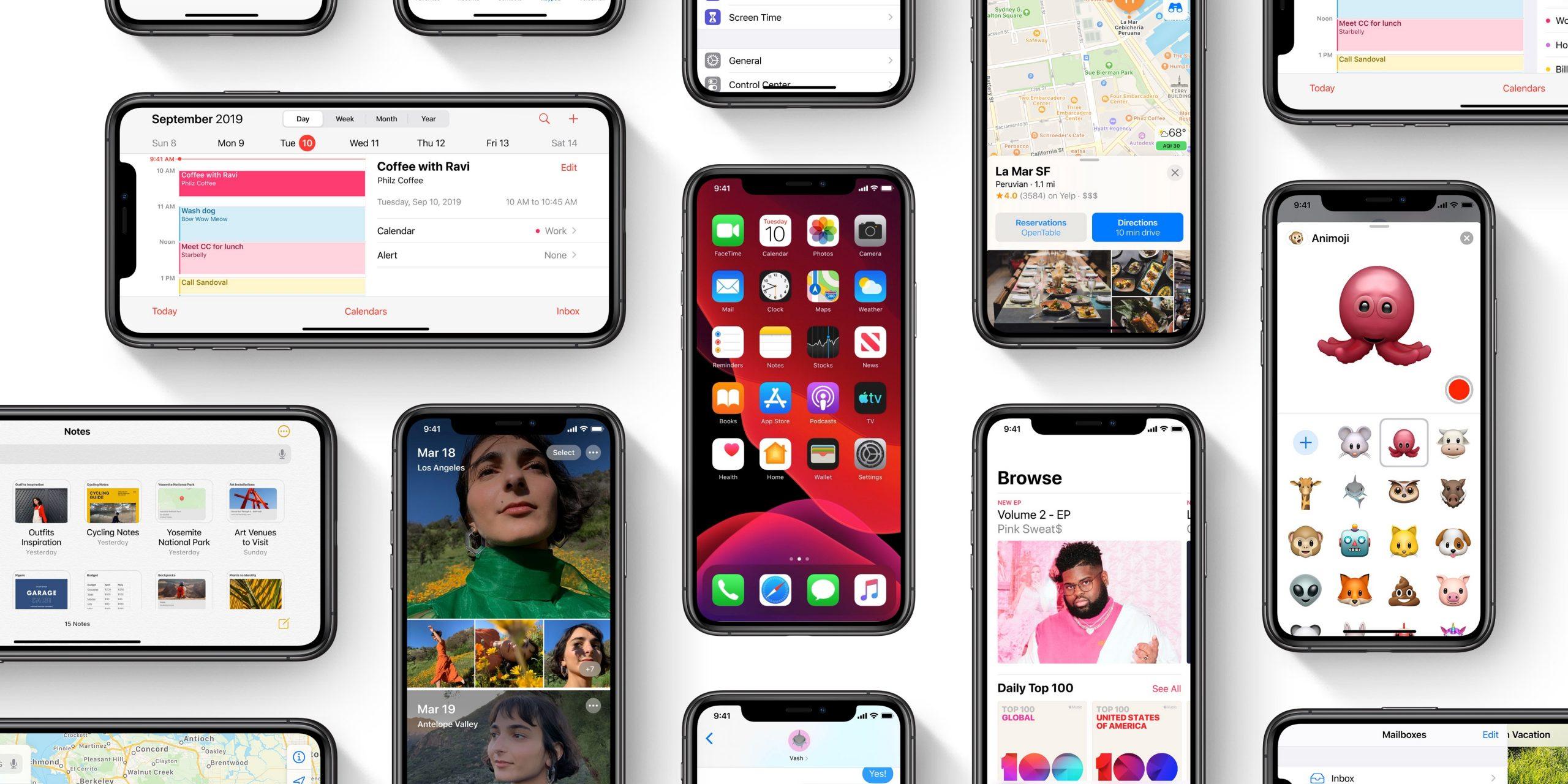 نسخههای جدید سیستم عاملهای اپل منتشر شد scaled