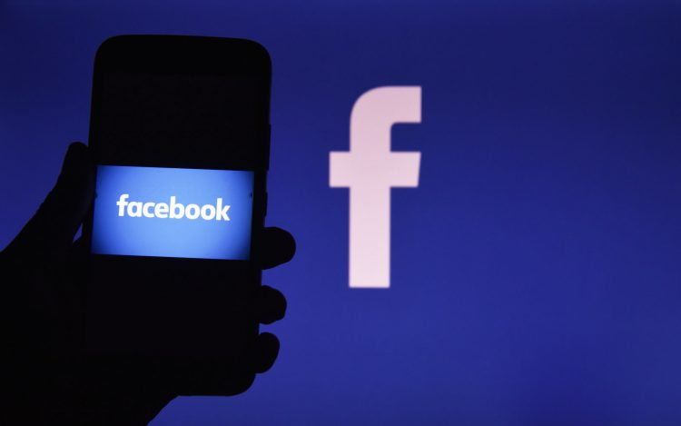 In this photo illustration Facebook logo can be seen, Kolkata, India, 28 February, 2020. Facebook Inc on Thursday announced its decision to cancel its annual developer conference due to Coronavirus outbreak according a news media report.  (Photo by Indranil Aditya/NurPhoto via Getty Images)