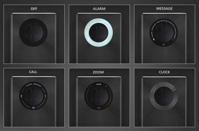 پتنت جدید هوآوی استفاده از نمایشگر لمسی در کنار ماژول دوربینها را نشان میدهد!