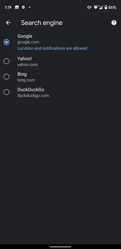 چطور موتور پیشفرض جستجو را در مرورگر گوگل کروم عوض کنید؟