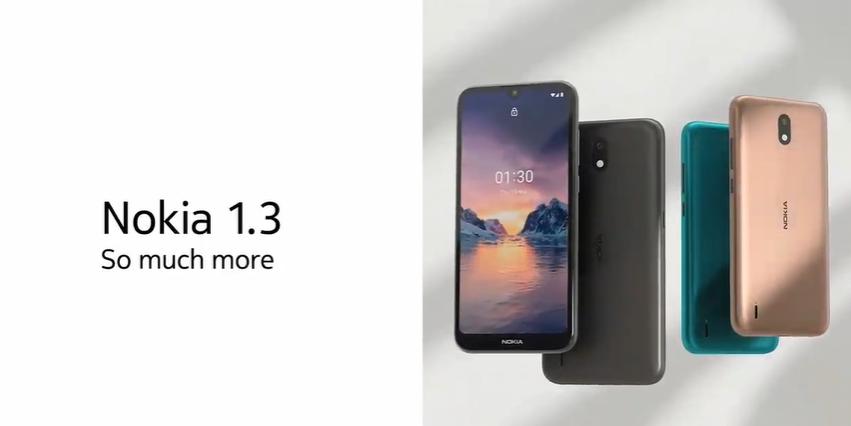 گوشی نوکیا 1.3 با سیستم عامل Android Go معرفی شد