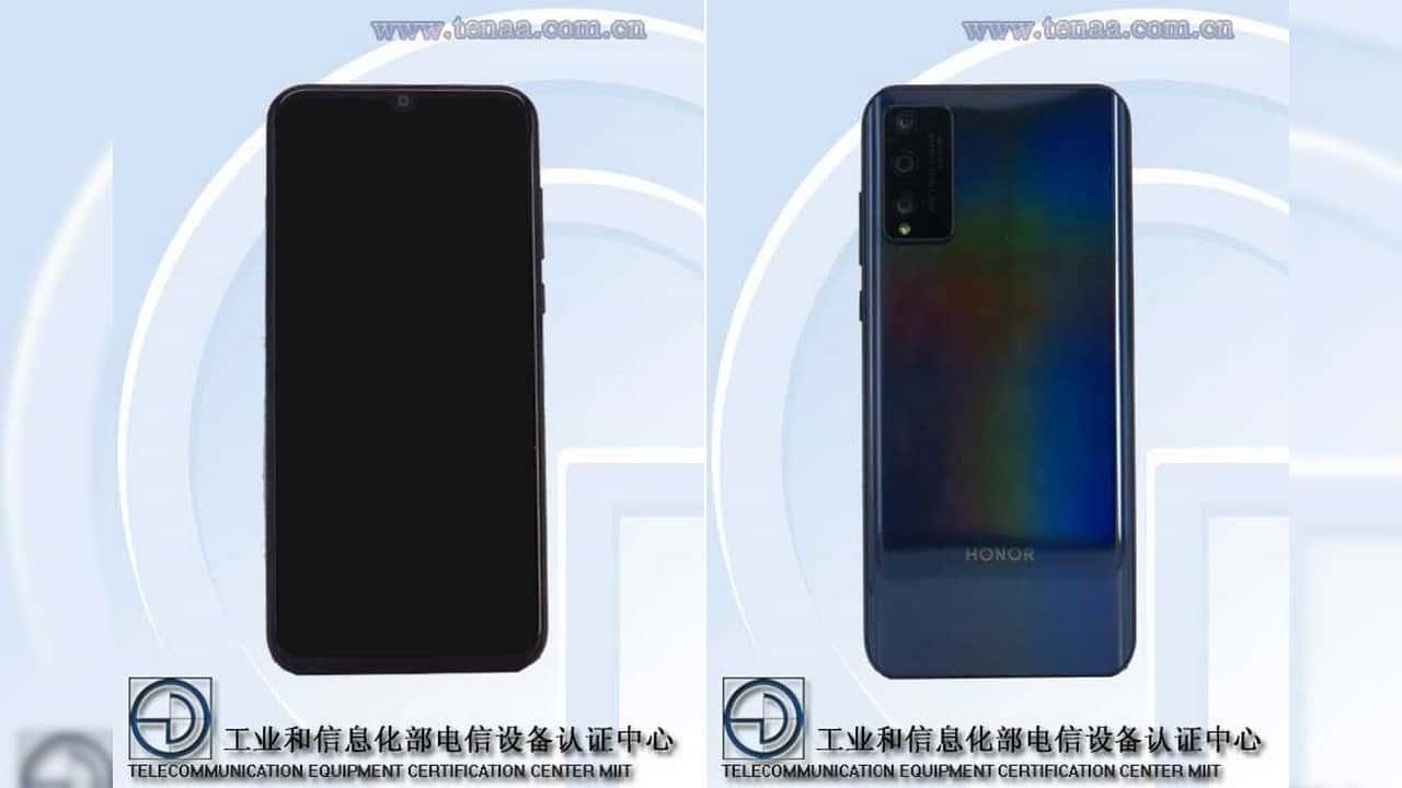 گوشی Honor 30 Lite در دیتابیس TENAA ظاهر شد؛ به همراه تصاویر