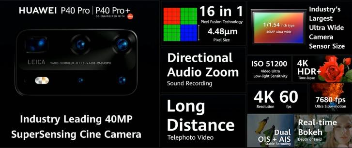 گوشی P40 Pro هوآوی معرفی شد؛ چشمک غول چینی به اس 20 اولترا سامسونگ 4