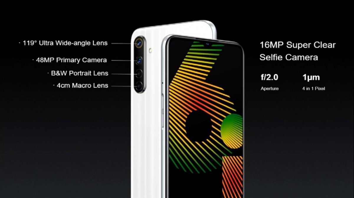 روکیدا - گوشی Realmi 6i معرفی شد؛ دوربین چهارگانه و باتری 5000 میلیآمپر ساعت - ریلمی, گوشی Realmi 6i, گوشی های هوشمند, گوشی هوشمند