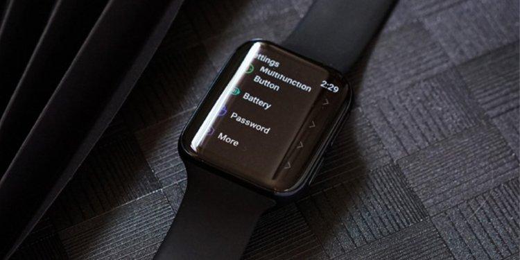 Oppo Wear OS watch