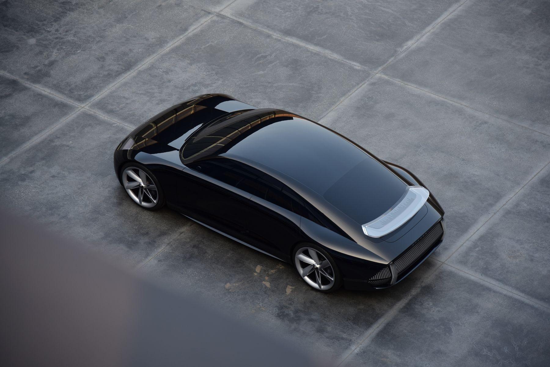 hyundai prophecy concept electric car 1 2