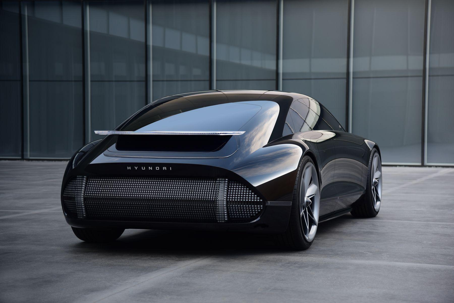 hyundai prophecy concept electric car 1 3