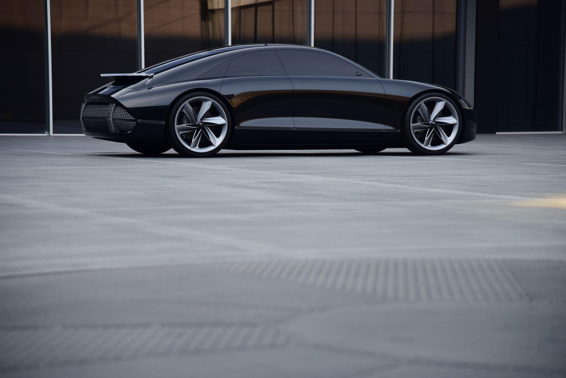 hyundai prophecy concept electric car 1 5