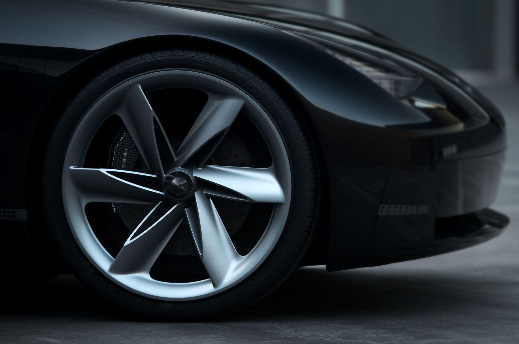 hyundai prophecy concept electric car 1