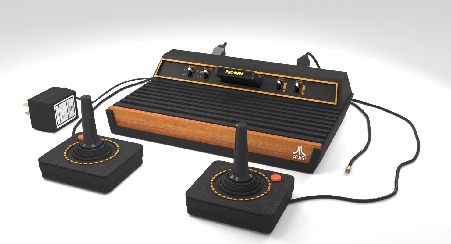 روکیدا - پلی به گذشته: آتاری 2600 - بازی, کنسول بازی