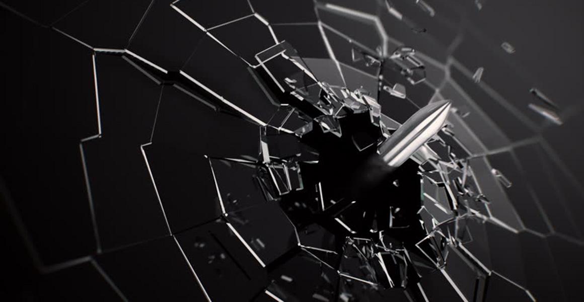 Bulletproof glass2