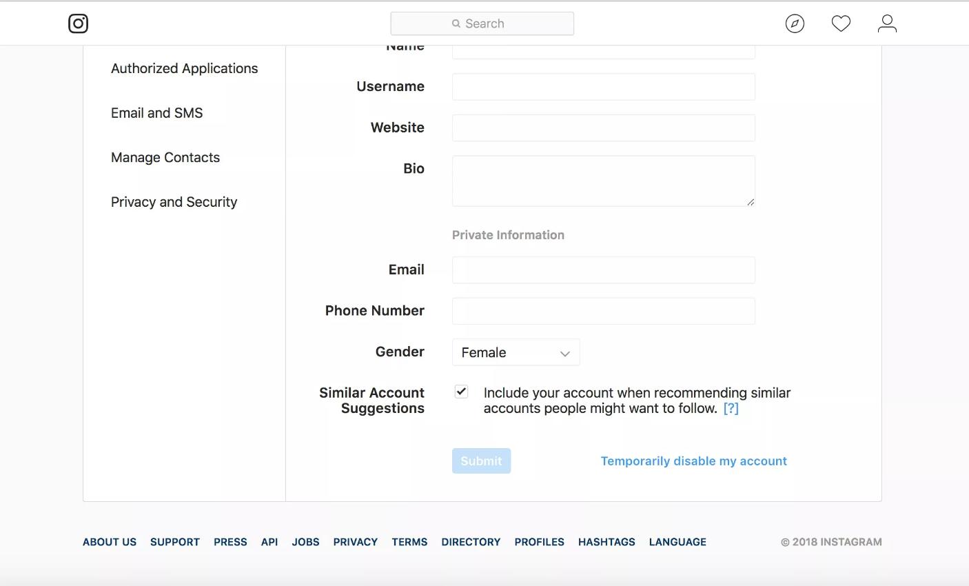 روکیدا - چگونه حساب کاربری خود در اینستاگرام را حذف کنیم یا موقتاً غیر فعال کنیم؟ - اینستاگرام, ترفندهای موبایل