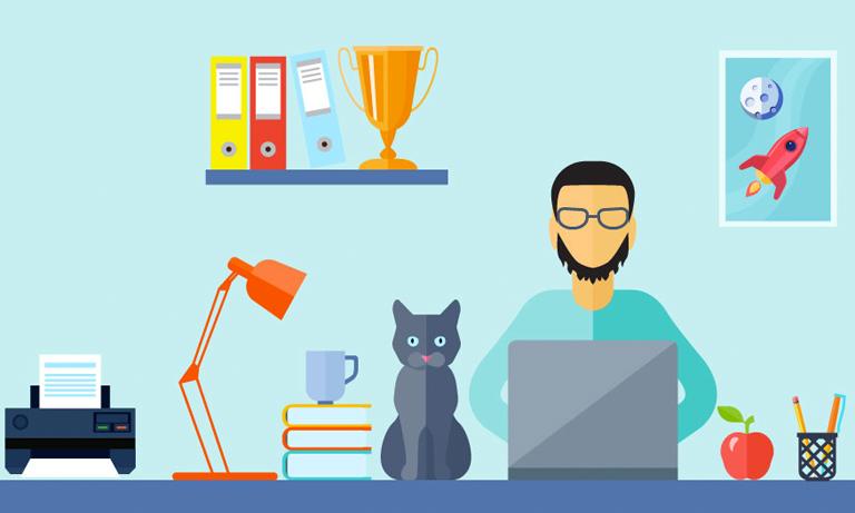 روکیدا - چگونه با کارمندانی که از خانه کار خود را انجام می دهند، رفتار کنیم؟ - دورکاری, طرح کسب و کار, مدل کسب و کار, مدیریت کسب و کار