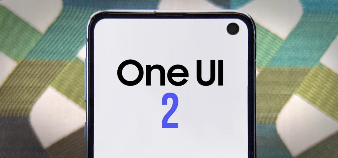 رابط کاربری One UI 2 سامسونگ 1