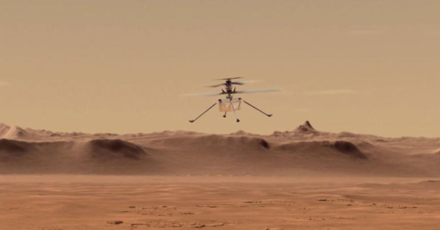 ناسا چگونه هلیکوپتر خود را در مریخ آزمایش می کند؟
