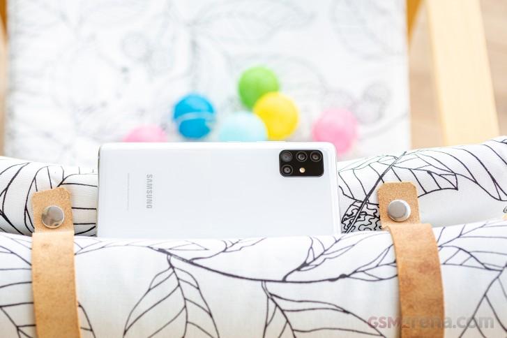 بررسی کامل و تخصصی گوشی گلکسی A51 5G سامسونگ 23