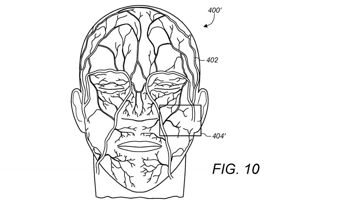 قابلیت فیس آیدی اپل در آینده رگهای صورت کاربر را میتواند نقشهبرداری کند