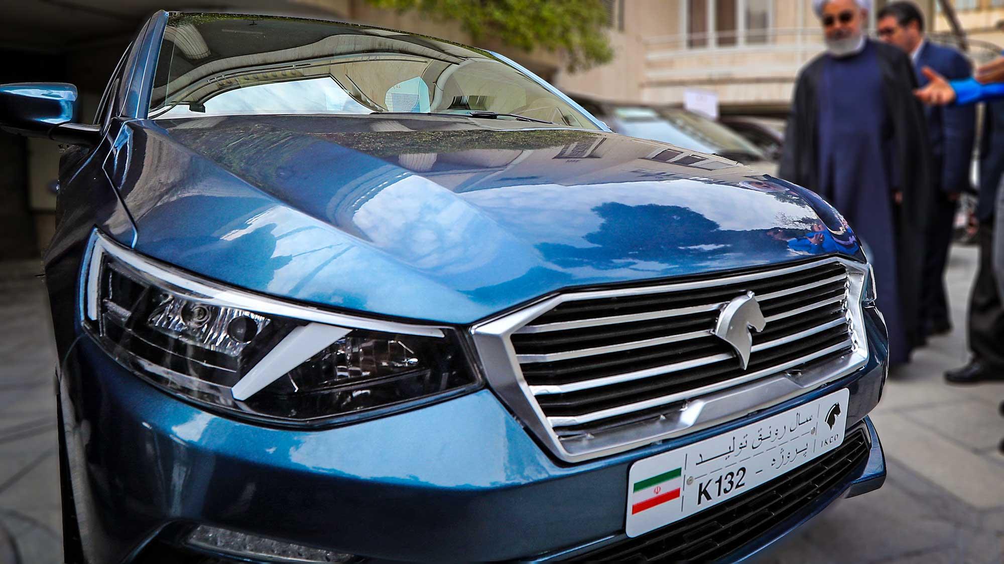 نام محصول جدید ایران خودرو چیست؟