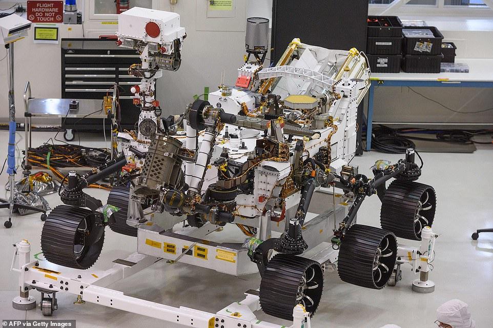 روکیدا - ماشین مریخ نورد ناسا، رسالت خود را شروع میکند - ماشین مریخ نورد, ناسا