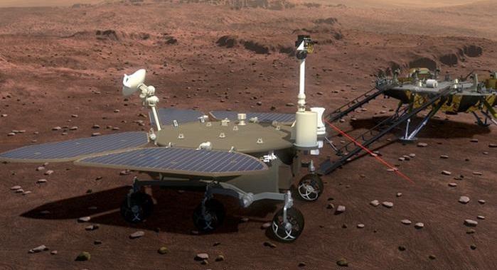 روکیدا - چین مریخنورد Tianwen-1 را با موفقیت به مدار سیاره سرخ رساند - ایستگاه فضایی بین المللی, فضا, مریخ, مریخنورد, چین