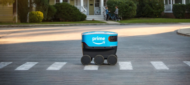 روکیدا - آمازون در حال آزمایش ربات تحویل دهنده Scout؛ جایگزینی برای آقای پستچی! - آمازون, ربات, رباتیک