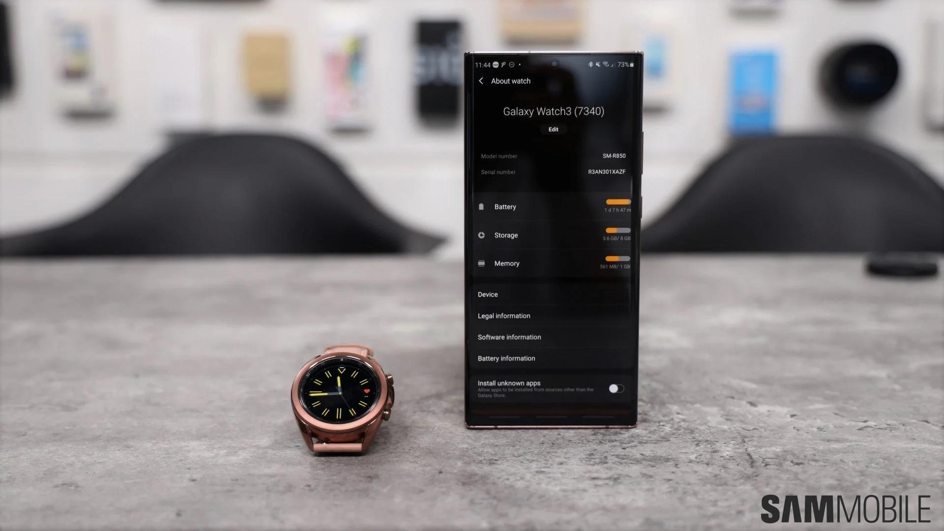 بررسی کامل و تخصصی ساعت هوشمند گلکسی واچ 3