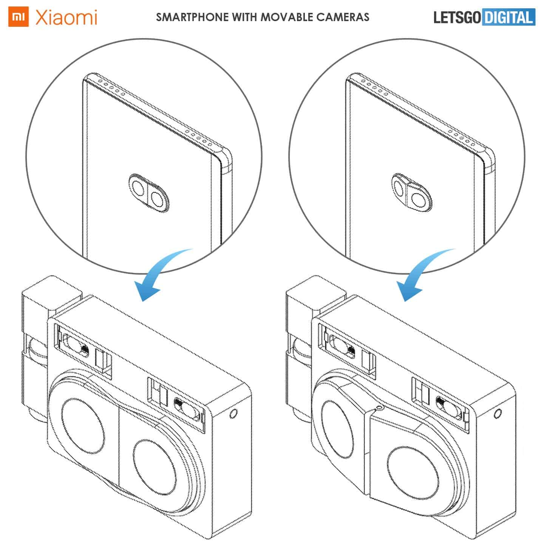 رویای شیائومی ساخت یک گوشی با ماژول دوربین متحرک را نشان میدهد