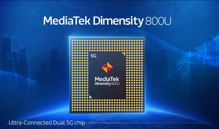 مدیاتک چیپست Dimensity 800U را با سرعت بالاتر پردازنده معرفی کرد