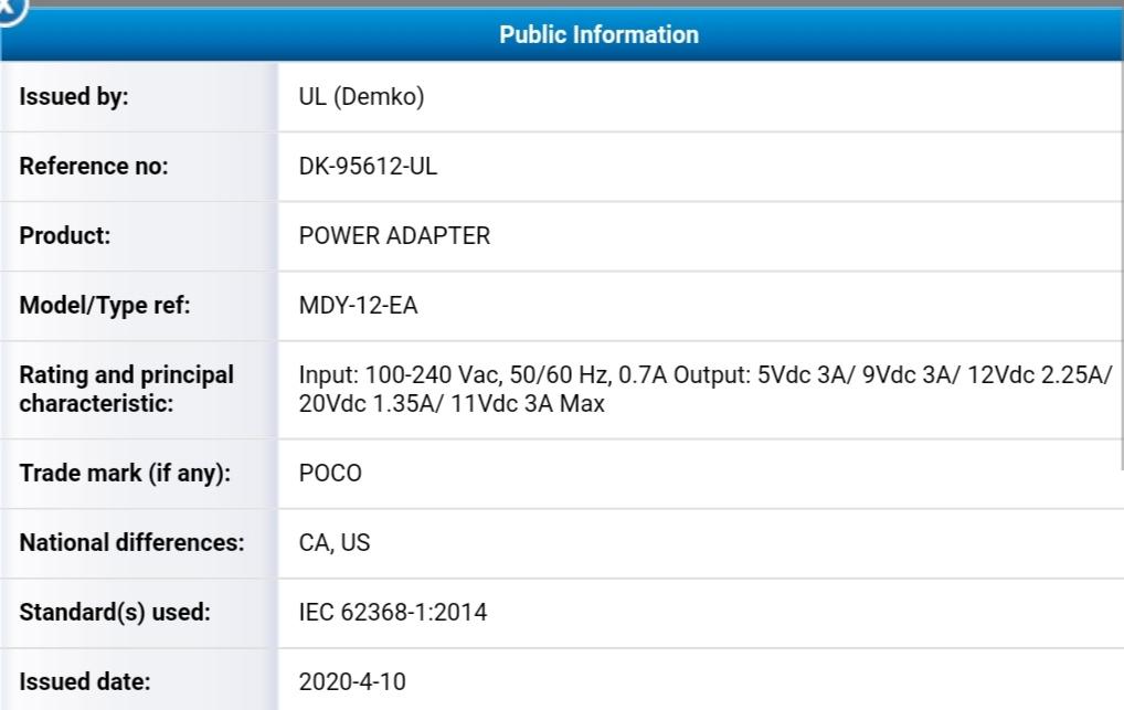 گوشی Poco X3 شیائومی مجوز FCC را به دست آورد