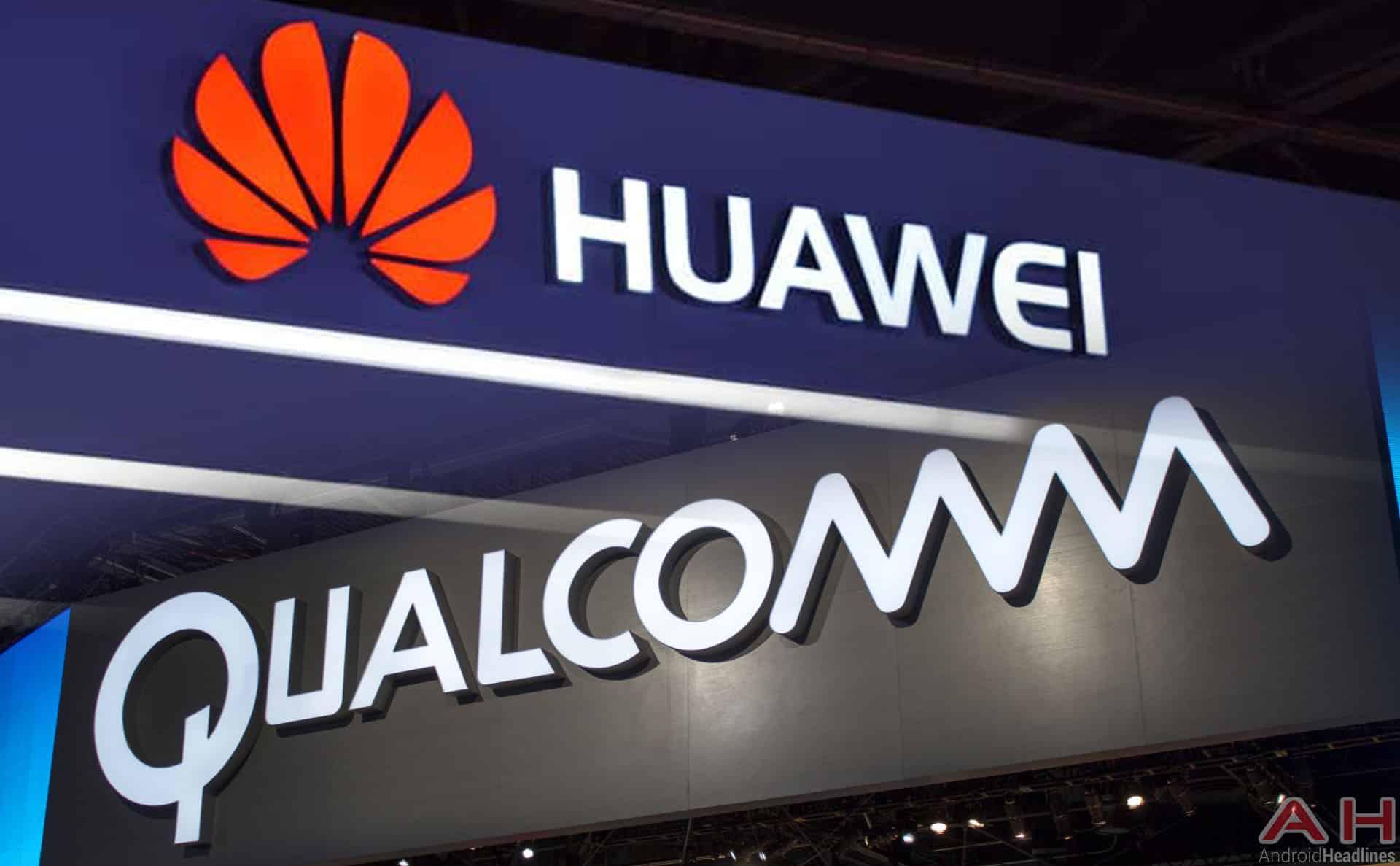 Huawei Qualcomm Logos AH Feb 18