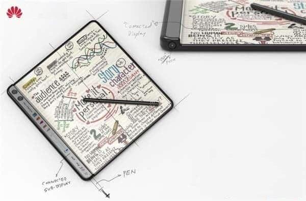 Huawei foldable phone a 2