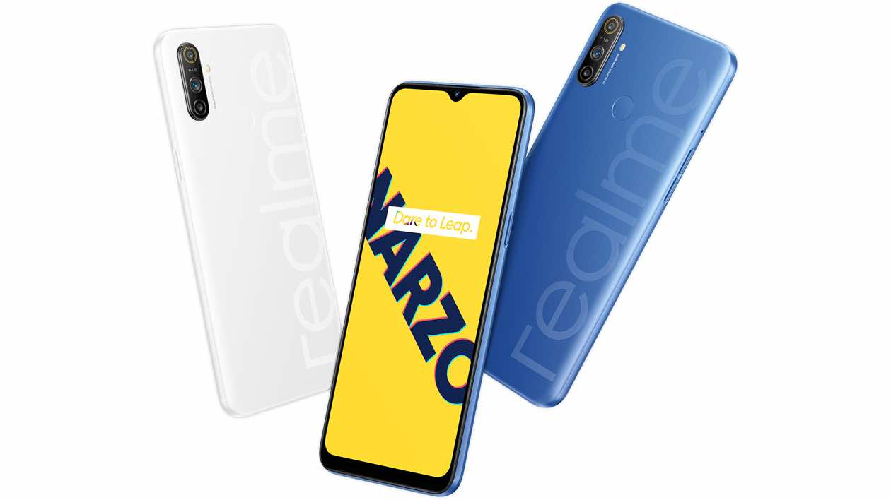 Realme Narzo 20 India launch details might have been leaked