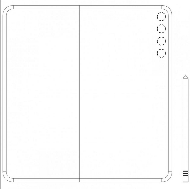Screenshot 2020 08 10 Huawei Mate X2 to come with an inward folding display3