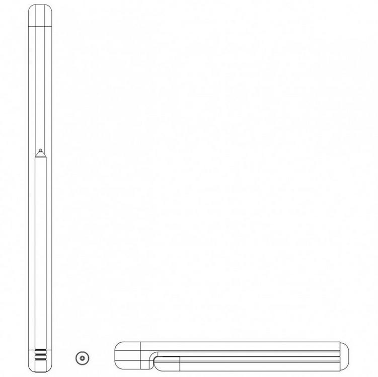 Screenshot 2020 08 10 Huawei Mate X2 to come with an inward folding display4