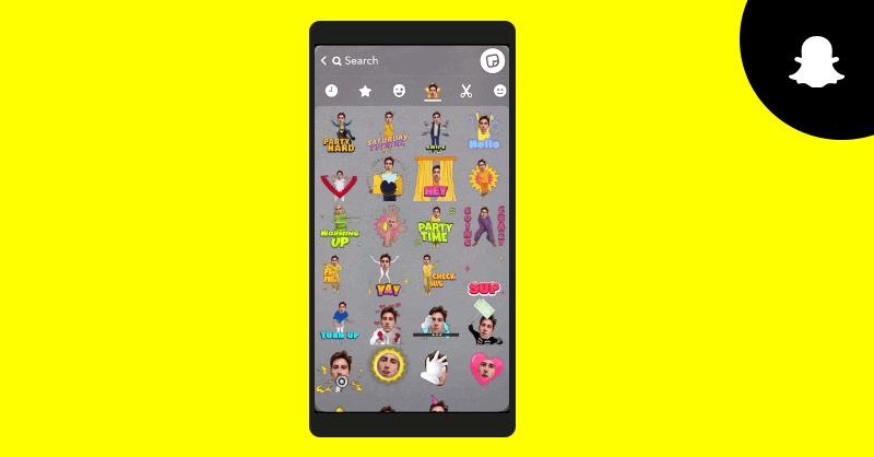روکیدا - Snapchat فیلتر جدید Cameos Stickers را به زودی اضافه خواهد کرد - ویرایشگر آنلاین عکس, ویرایشگر رایگان عکس, ویرایشگر عکس