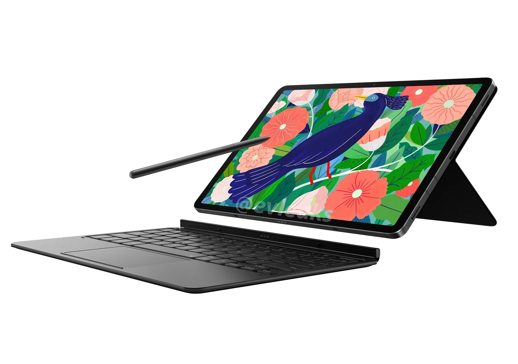 روکیدا - افشای تصاویر و مشخصات Galaxy Tab S7: قدرتمند با ظاهری جذاب - بهترین تبلت ها, بهترین تبلت های اندرویدی, سامسونگ
