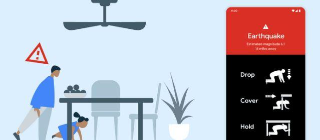 روکیدا - گوگل چه هشداری برای نجات جان شما میفرستد؟ - زلزله, گوگل