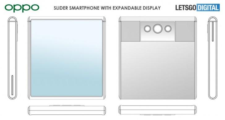 اوپو قصد دارد یک گوشی تاشو با طراحی متفاوت بسازد