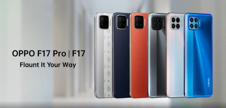 دو گوشی F17 و F17 Pro اوپو رسما معرفی شدند