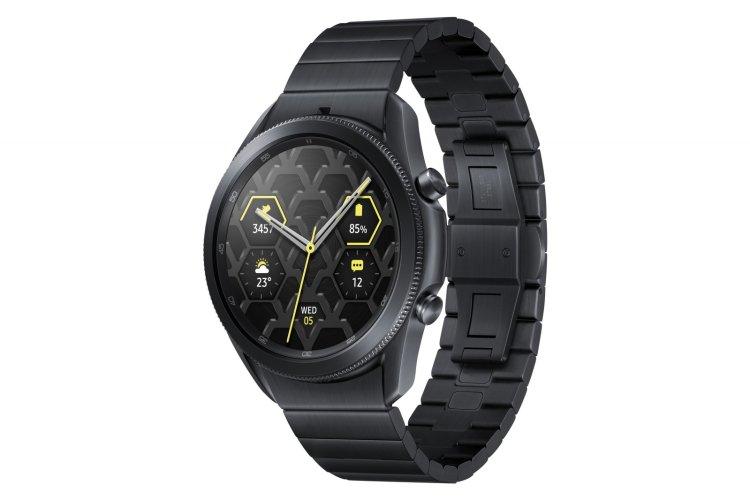 مدل تیتانیومی ساعت هوشمند گلکسی واچ 3 در آلمان رونمایی شد_