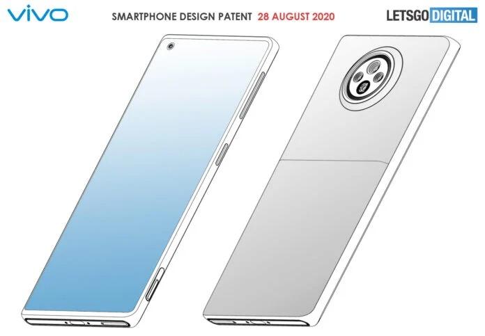پتنت جدید ویوو یک گوشی با طراحی دو رنگی را نشان میدهد