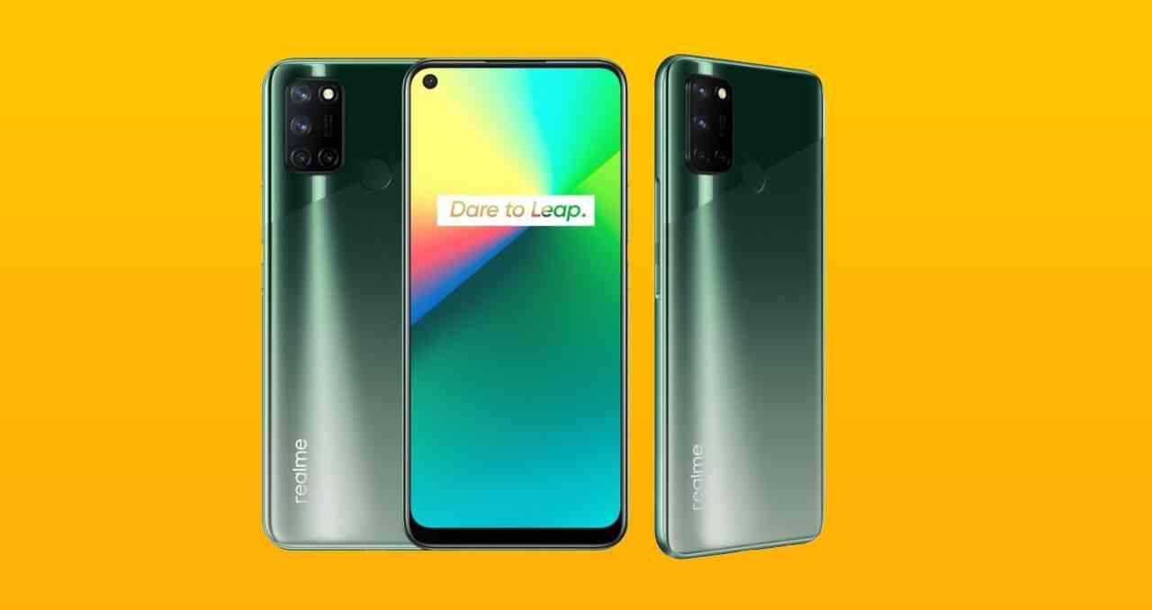 1599757201 Realme 7i Geekbench test results displayed