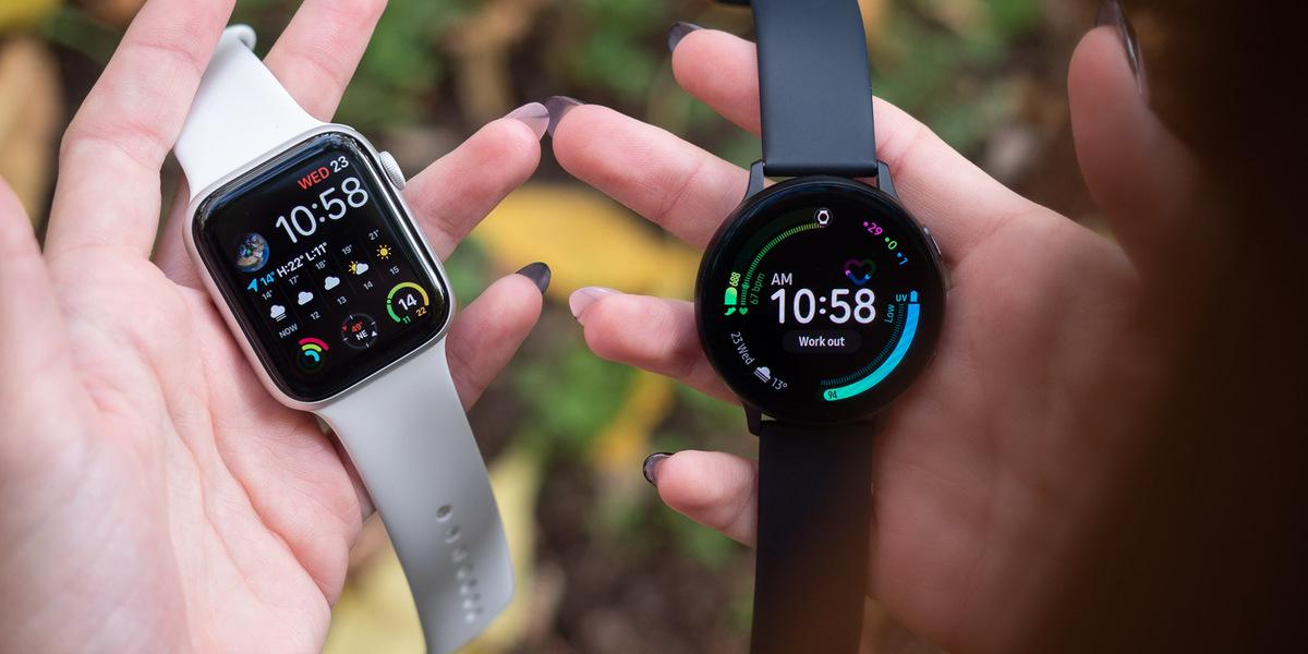 Apple Watch Vs Samsung Galaxy Watch