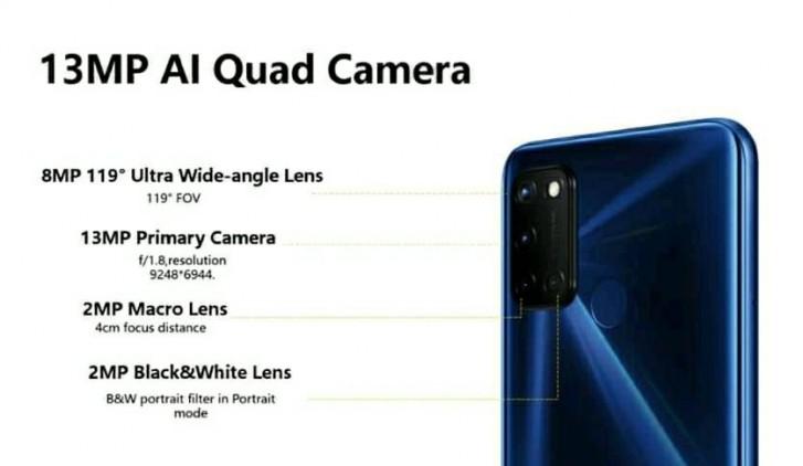 روکیدا | مشخصات Realme C17 فاش شد | Realme, Realme C17, گوشی