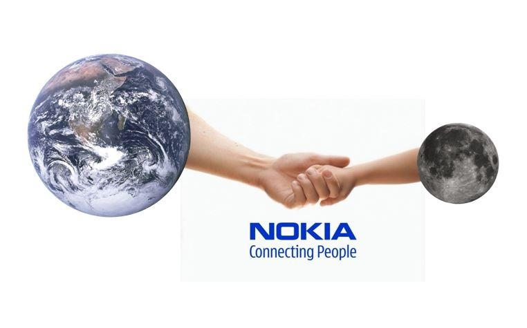 Nokia wins contract to build a 4G cellphone network on the Moon