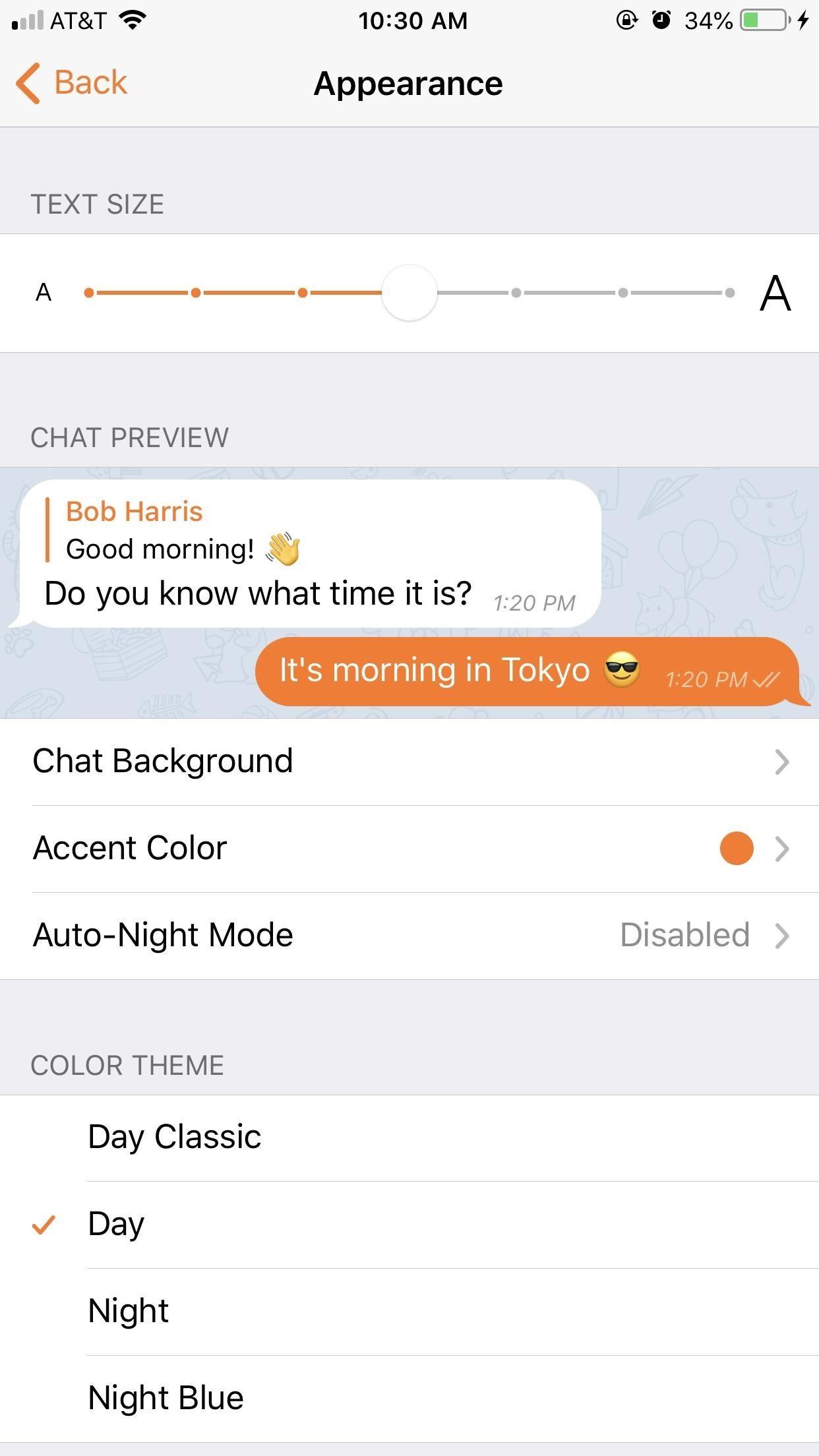 چگونه پس زمینه تلگرام خود را عوض کنیم