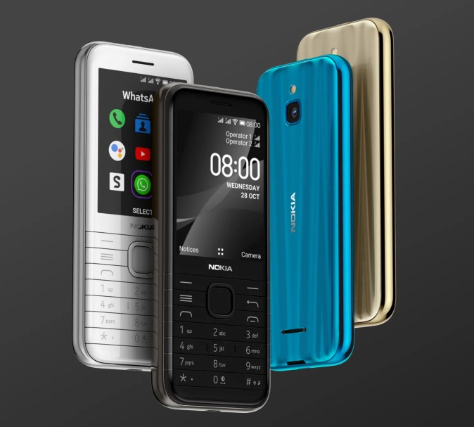 Nokia 8000 or 6300 4G 1