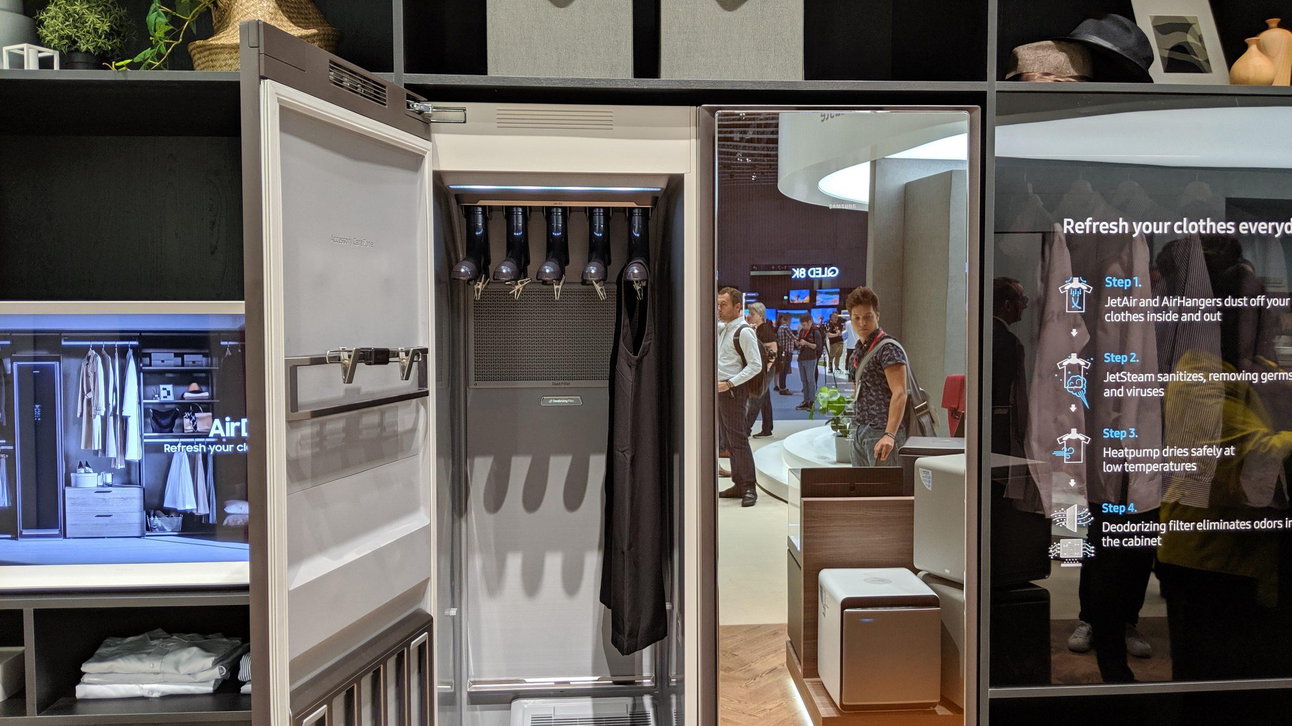 روکیدا | محصول ویژه سامسونگ برای دوران کرونایی: کمد لباسی با قابلیت های شگفت انگیز | سامسونگ, ویروس کرونا, کرونا