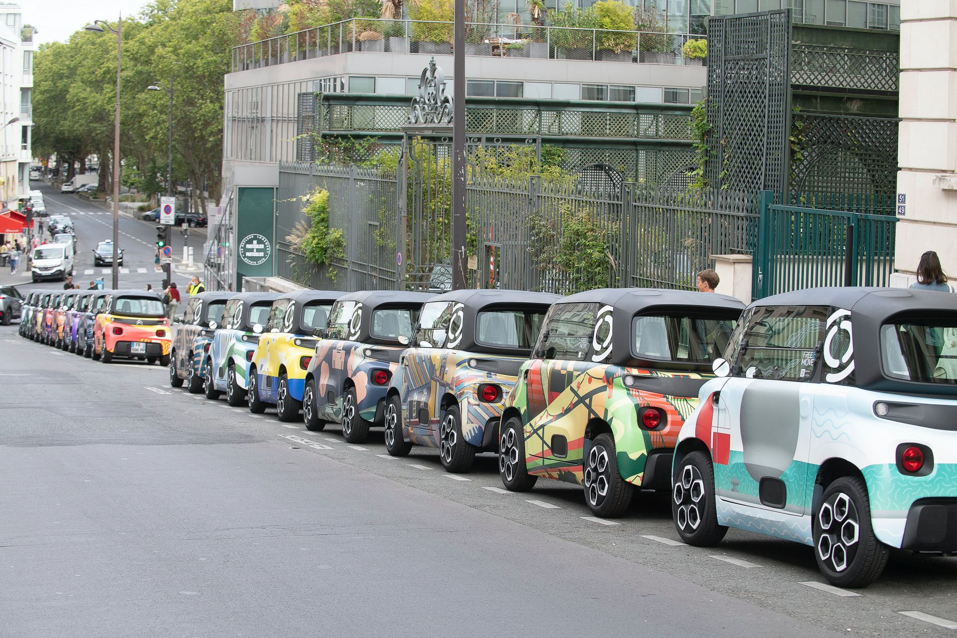 Citroën Ami with unique designs inspired by Paris neighborhoods 3
