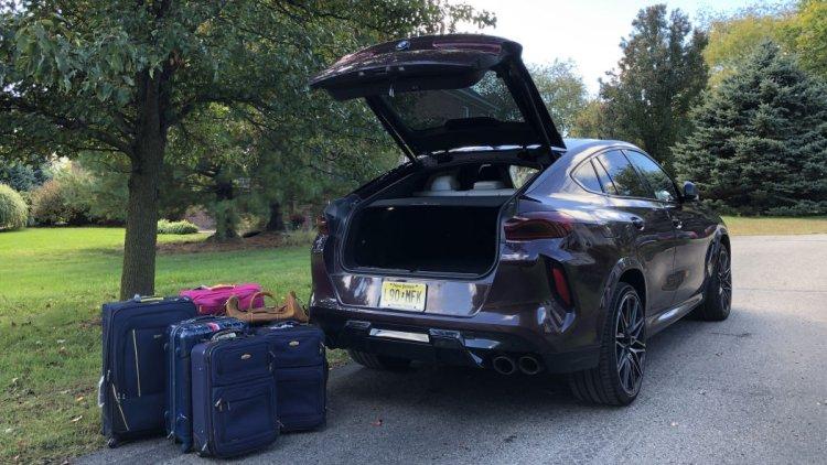 خودرو X6 از شرکت BMW: چمدانهای شما در X6 جا میشود؟